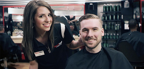 Sport Clips Haircuts of North Hills-Ohio Twp​ stylist hair cut